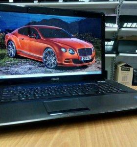 Мощный Asus с Большим Экраном 17,3 на Intel 4 Ядра