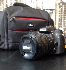 Зеркальная камера Nikon D7100 Kit 18-105mm VR