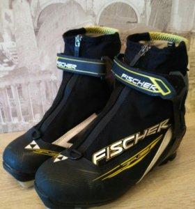 Лыжные ботинки fisher р.36