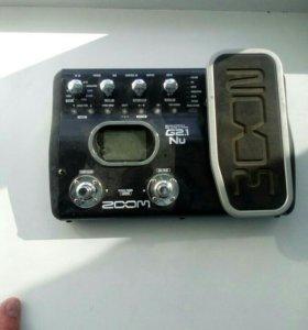 Гитарный процессор эффектов Zoom g2.1nu