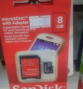 MicroSD 8GB
