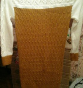 Вязанное платье.