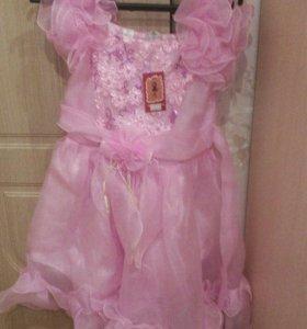 Платье девочки новое