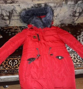 Куртка на девочку. Зима