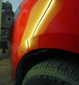 Ремонт вмятин без покраски на кузове автомобиля