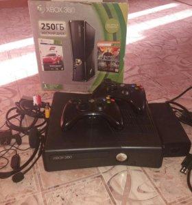 X box 360 250 гб с установленными играми