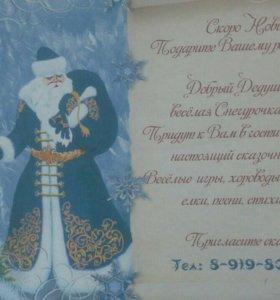Дед Мороз , Снегурочка, Баба-Яга на дом.