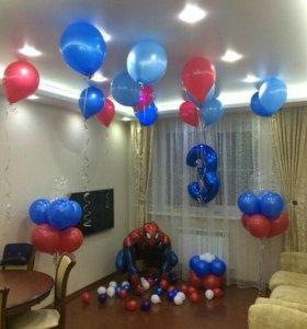 Гелиевые шарики, сувениры для праздника