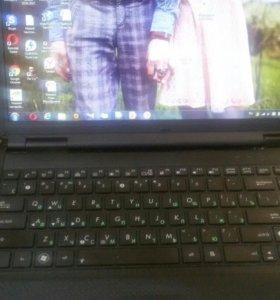 Ноутбук asus б.у. Рабочий.