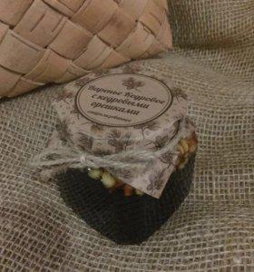 Кедровое варенье с кедровыми орешками