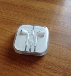 EarPods наушники apple новые