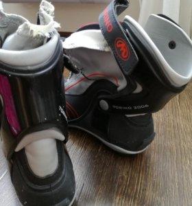 Ботинки лыжные размер 39-40