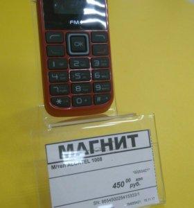 Сот тел Alcatel 1008