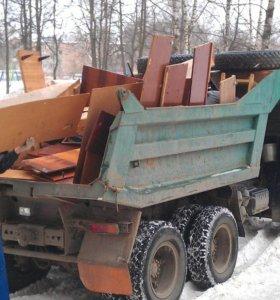 Вывозим строительный и быт. мусор, старую мебель