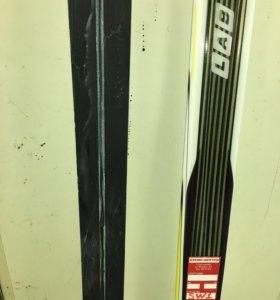 Лыжи Salomon s-lab skate JR 165 + крепления