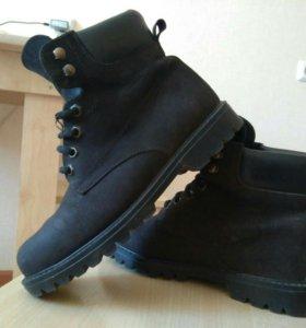 Замшевые ботинки WoodStone