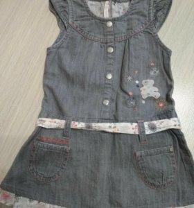 Сарафан джинсовый на девочку