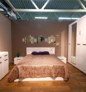 Мебель для спальни Лайт белый мдф