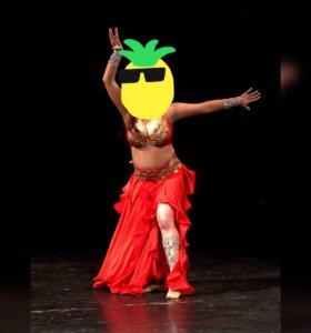 Костюм для танца живота ( bellydance)