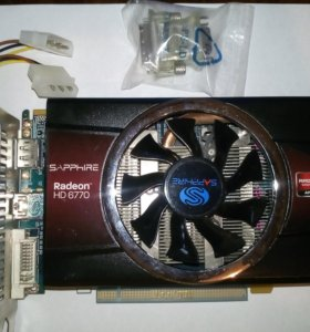 AMD Radeon HD 6770 1Gb GDDR5