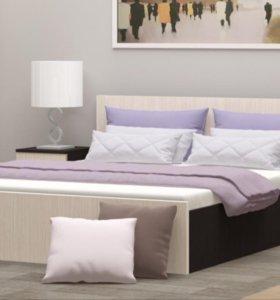 Комплект кровать и матрас 160/140/90х200