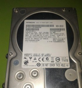 """Жесткий диск HDD Hitachi 2 Тб SATA 3.5"""""""