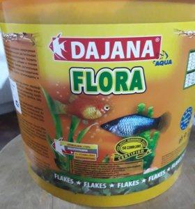 Корм для рыбок DAJANA FLORA