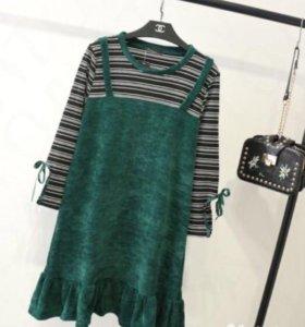 платье новое (на рост до 168см.) ог- 112 длина 90