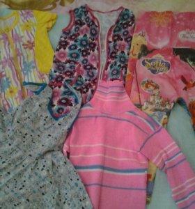 Одежда на девочку по 250 руб