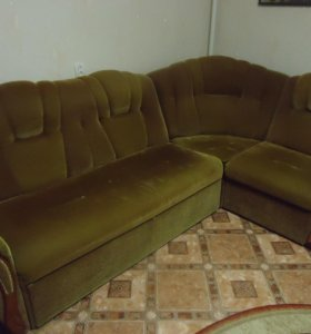 Мягкий уголок. Кровать массажер Нуга -Бест