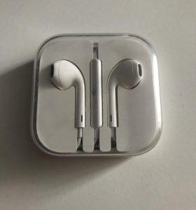 Наушники earpods для apple оригинальные
