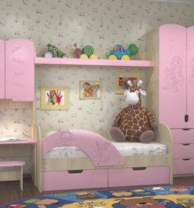 """Мебель для детской """"Vitamin 7"""" розовый"""