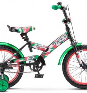 "Велосипед детский Stels Pilot-150 Army 16"""