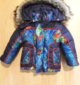 Куртка зимняя до 2 лет