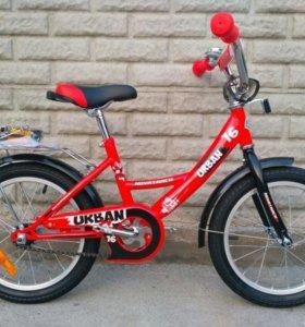 """Велосипед детский Novatrack URBAN 16"""""""