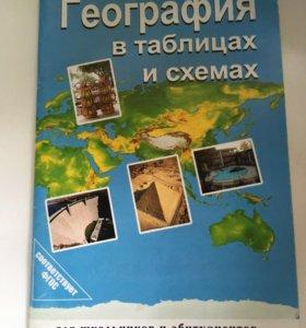 География в таблицах и схемах.В.Г.Чернов. ОГЭ, ЕГЭ