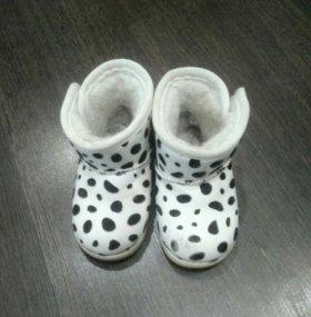 Ботинки для девочки 14,5
