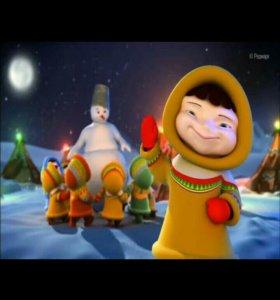 Поздравление от Деда Мороза в HD качестве