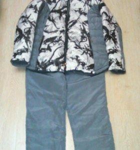 Куртка и штаны зимние на синтепоне.