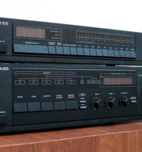 Telefunken HA 870, HT 870. Усилитель + тюнер
