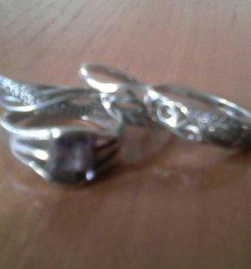 Кольца- серебро