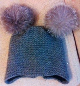 2 шапки+ платки