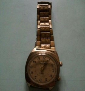Полёт , часы , браслет, позолоченные. USSR. .