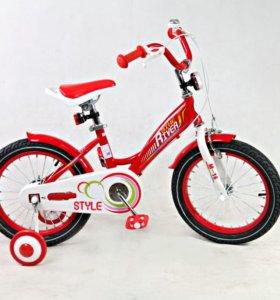 "Велосипед детский Riverbike M-14 14"""