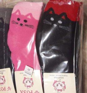 Носки теплые для девочек 10-12 лет