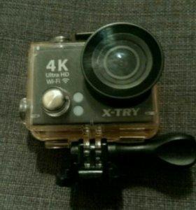 Экшн камера 4к X-Try