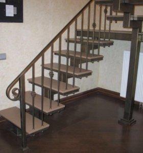 Лестницы , перила, изготовление.