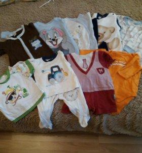 Вещи на мальчика 6-9 месяцев