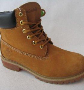 Ботинки Timberland Демисезонные Нубук Пес.Б.43