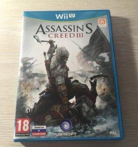 Игра Assasin's Creed 3 для Nintendo Wii U